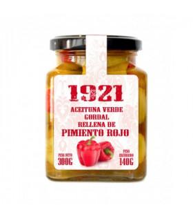 Oliven gefüllt mit Paprika 300 g