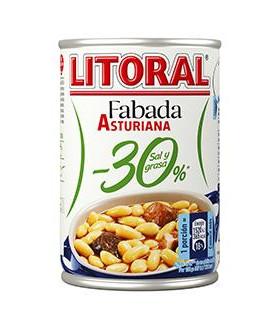 Fabada Asturiana -30% Salz und Fett Litoral 435 gr