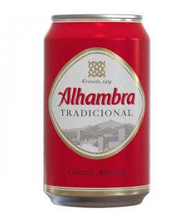 Alhambra Tradicional Bier - 8 Dosen 33 cl