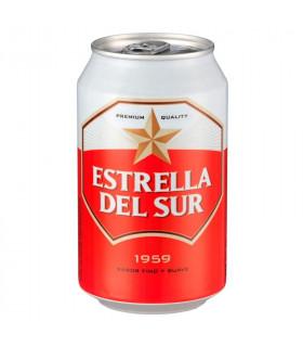 Estrella del Sur Bier - 8 Dosen 33 cl