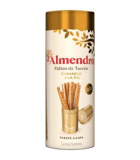 Turrón Sticks  mit salzigem Karamell El Almendro 16 Stück 250 gr