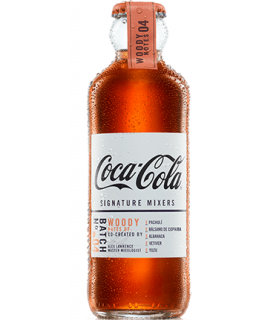 Coca-Cola Signature Mixers Woody Notes 24 x 200 ml
