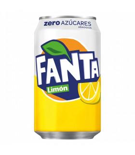 Fanta Zero Limon 8 Dosen 33 cl