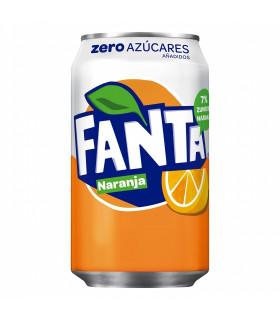 Fanta Zero Naranja 8 Dosen 33 cl