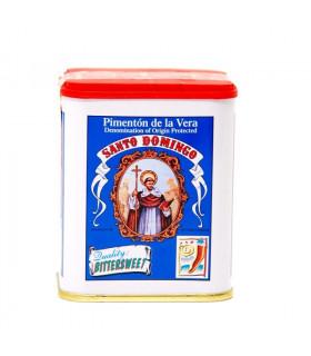 Geräuchertes Bittersüsses Paprikapulver Pimenton de la Vera Santo Domingo 75 gr