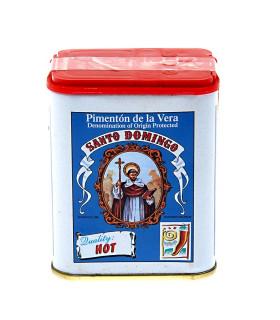 Geräuchertes Scharfes Paprikapulver Pimenton de la Vera Santo Domingo 75 gr