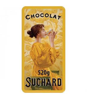 Dose mit 2 Schokolade Turron mit Puffreis Suchard