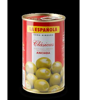 Oliven gefüllt mit Sardellen La Española 150 gr