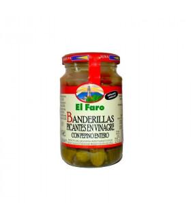 Banderillas picantes El Faro 150 gr