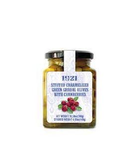 Oliven gefüllt mit Cranberries 300 g