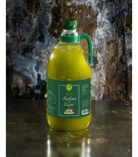 Grünes Natives Olivenöl Extra Molino de Izcar 2 L
