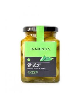 Oliven gefüllt mit Jalapeño Inmensa