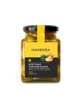 Karamellisierte Oliven gefüllt mit Ananas Inmensa