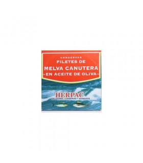 Canutera Melva Filets in Olivenöl Filetes de melva canutera en aceite de oliva Herpac 525 gr