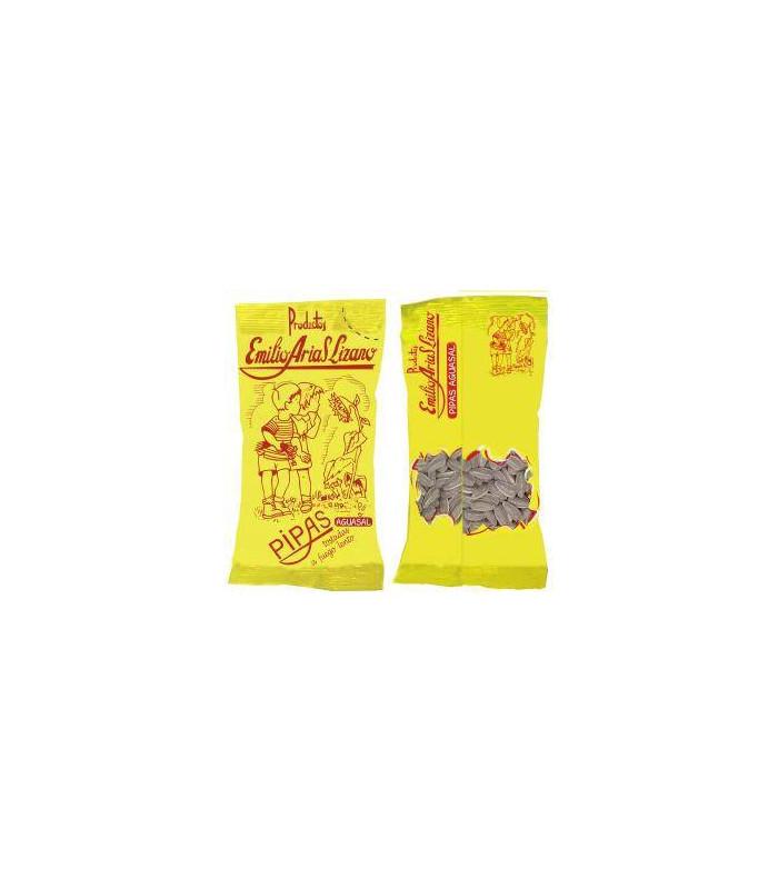 Pipas tostadas con aguasal Geröstete Sonnenblumenkerne mit Salzwasser Emilio Arias Lizano 150 gr