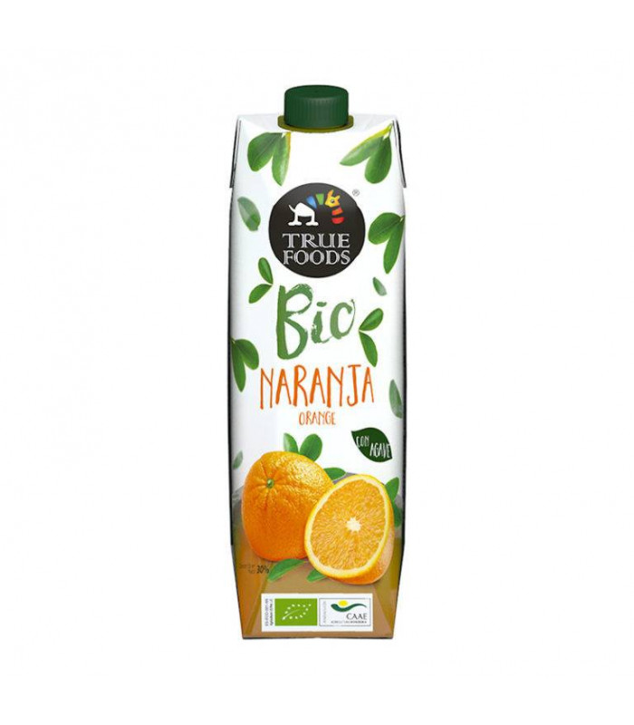 Orangensaft Bio mit Agave Truefoods