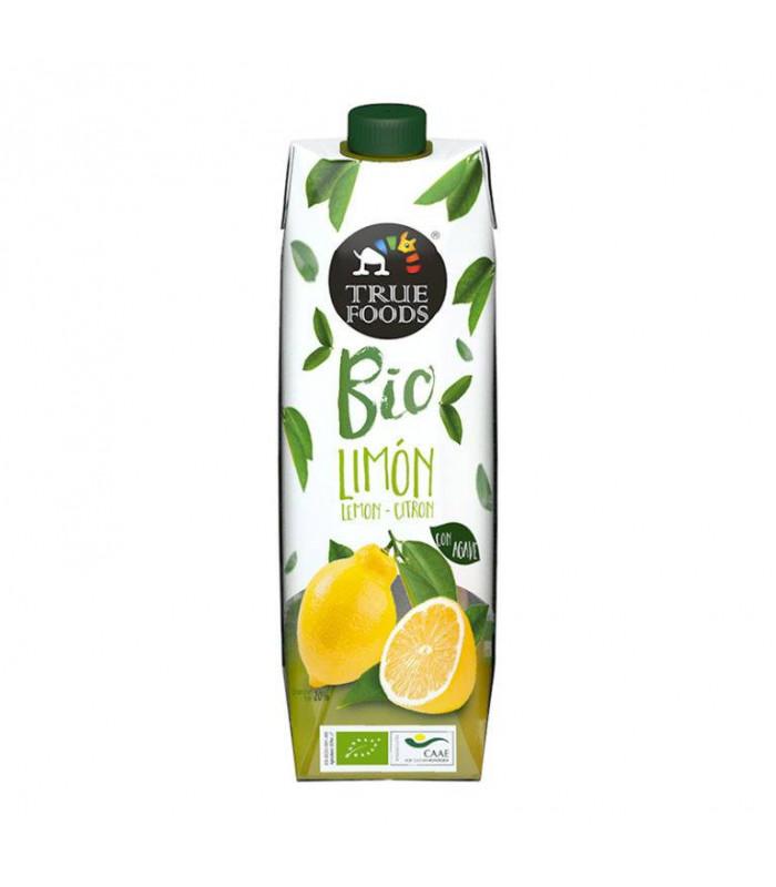 Zitronensaft Bio mit Agave Truefoods