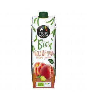 Pfirsich und Traubensaft Bio mit Agave Truefoods