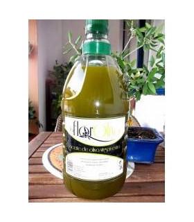 Frisches Natives Olivenöl Extra Naturtrüb La Flor del Olivo 2 Liter