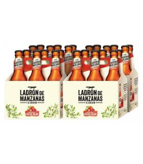 Ladrón de Manzanas Frutos Rojos Cider 24 Flaschen 25cl