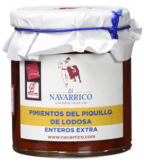 Piquillo Paprika aus Lodosa El Navarrico 220 g